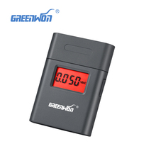 Easy Use High Accuracy Lcd Display Digital Breath Alcohol Tester Alcoholometer Breath Breathalyzer(China)