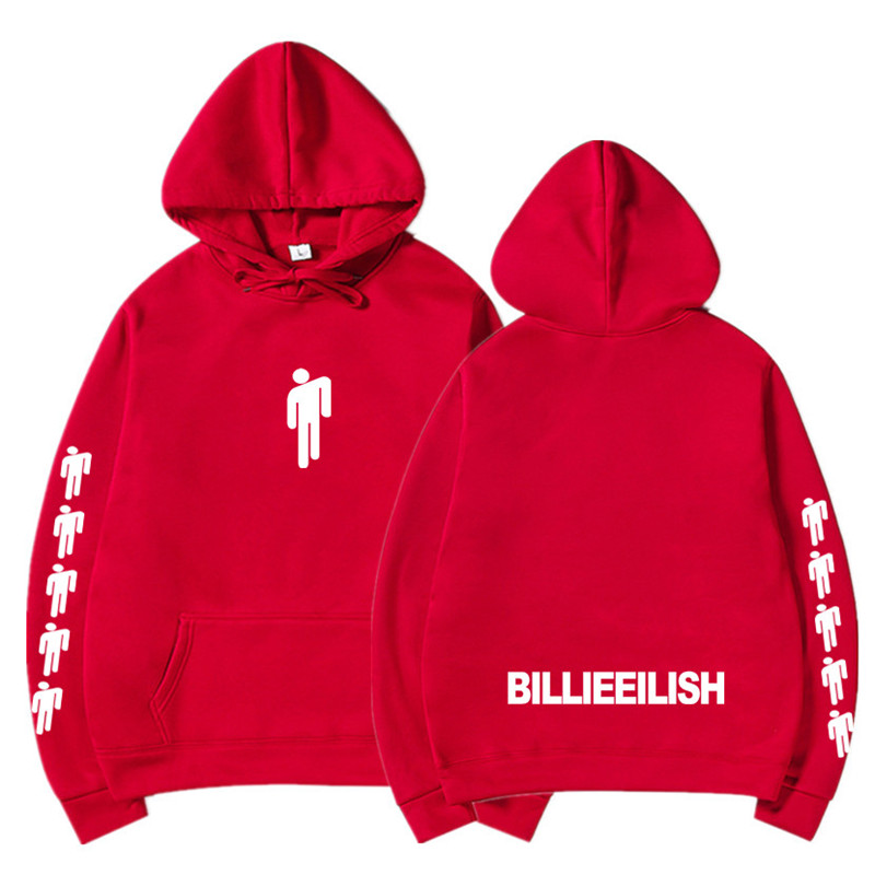 New Hot Billie Eilish Hoodie Men Black Cotton Hoodie Couple Billie Eilish Sweatshirt Simple Keep Warm Women/men Hoodie Clothes 5