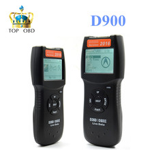 2017 High quality D900 obd2 scanner Universal OBD2 EOBD CAN Fault Code Reader Scanner Diagnostic Scan For Any Car