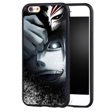 Hot Anime Bleach Manga phone case cover for Samsung Galaxy s4 s5 s6 S7 edge S8 plus note 2 3 4 5(China)