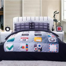 High quality Bedding Set 4PCS 3d phone keypad Print queen comforter Bedding Sets Duvet Cover Bed Sheet Pillow Case Home textile(China)