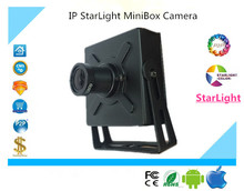 Luckertech IP StarLight MiniBox Camera All Color Low illumination 960P 1080P Sony225 291 ONVIF 2.4 CMS XMEYE P2P Clound Security