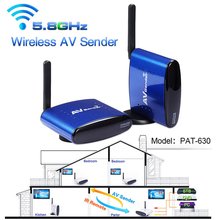 PAT-630 200m 656ft Wireless 5.8G AV RCA Audio Video Transmitter Receiver Sender For STB DVD Satellite IPTV Android Cable TV