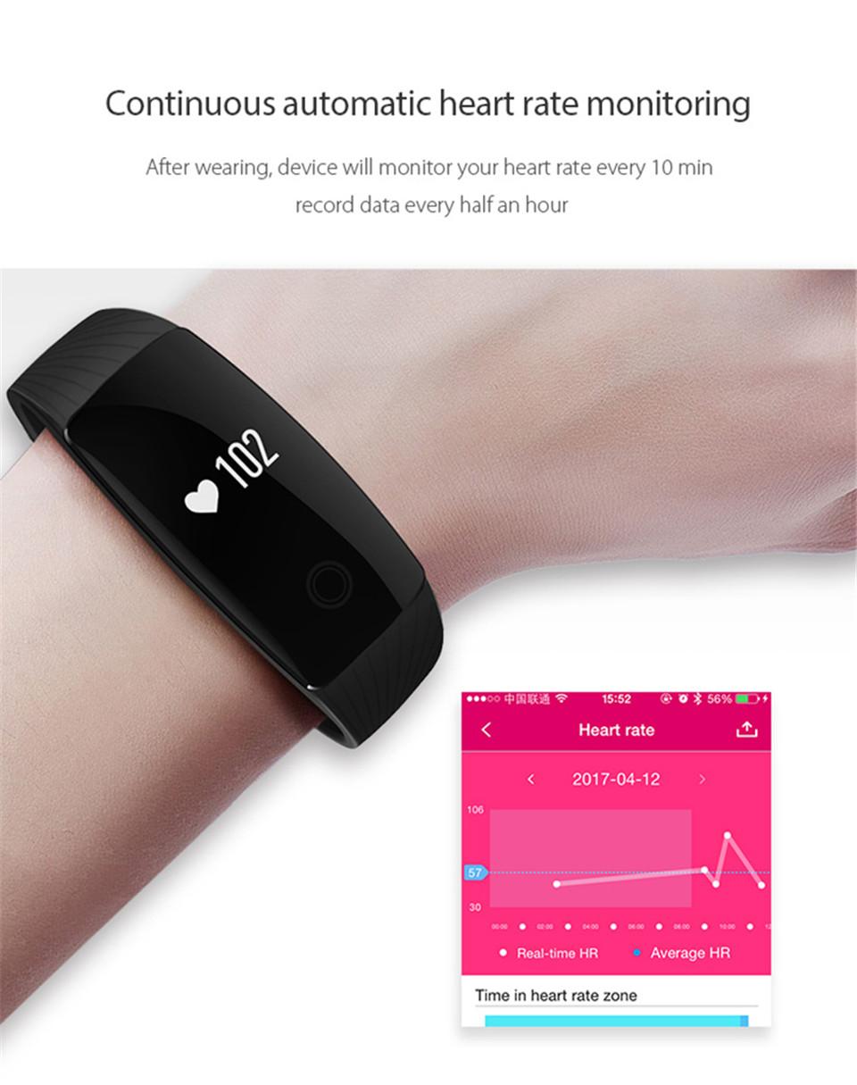 Teamyo New V05C Smart Band Pulse Heart Rate Monitor Smart Wristband Fitness Tracker Pedometer Sleep Tracker IOS Android Bracelet 8