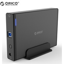 ORICO 7688U3 USB3.0 to SATA3.0 3.5 inch External Hard Drive Enclosure Docking Station Support UASP 12V Power