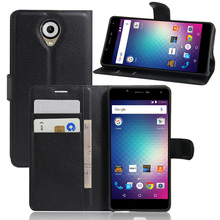 PU Leather Wallet Case For Blu R1 HD/WIKO U Feel Phone Bag Cover With Stand Function And Visa Card Slot(China)
