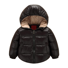 Winter 2017 New Baby Boys Jackets Boys Coats Fashion Baby Girl Down Jackets Warm Children Outerwear Kids Costume 1-6Y