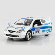 KINSMART Model Cars Toy For Collection, 1:34 Scale Simualtion Toy Cars Model / Brinquedos, Alloy Pull Back Racing Sports Car(China)