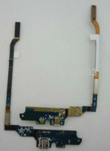 For Galaxy S4 SIV GT-I9500 I9505 I337 M919 I545 L720 R970 Charging Port Dock Connector Micro USB Port Flex Cable