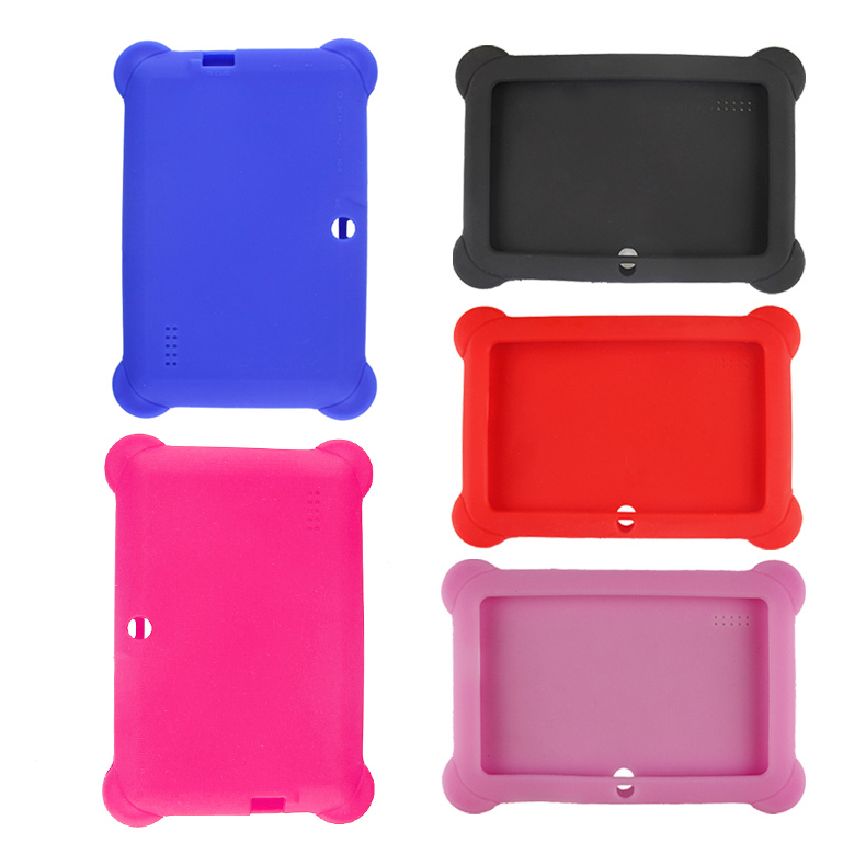 Hot Silicone Gel Protective Back Case Cover For 7 Inch Android Tablet Q88<br><br>Aliexpress