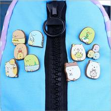 Creative cartoon PVC badges Children's brooch beautiful safety pins The corner of biological badges(China)