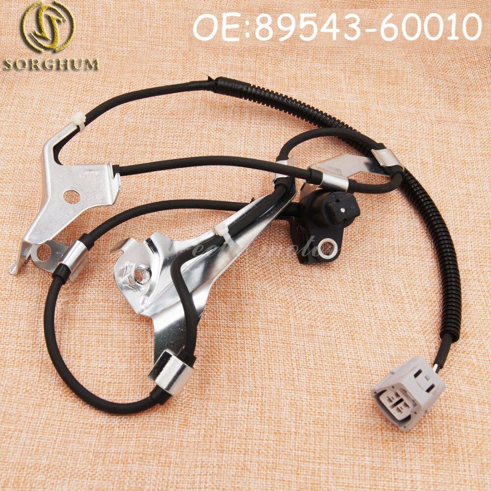 New ABS Wheel Speed Sensor Front Left 89543-60010 For Toyota Lexus 4.7L V8 98-07