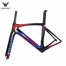 THRUST 2017  Carbon Road Frame Carbon Frame Road Bike 490 520 540 560 580mm Carbon Road Bicycles Frames 700C