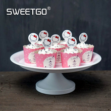 8 Inches Cake Stands Wedding Birthday Cake Decoration White Cake Plates Baking DIY Cakes Tools Home Food Tray Cupcake Holder