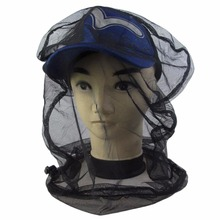 1Pcs Anti-mosquito Mesh Net Head Net Cover Prevent Bug Insect Bee Protect Hat Pest Control(China)