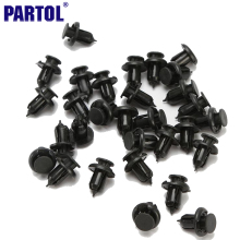 30Pcs Auto Vehicle Car Bumper Clips Retainer Fastener Rivet Door Panel Fender Liner Screw For Honda Civic Accord CRV Prelude(China)