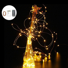 10Meter 100 LED 3AA Battery Coppe Wire String Light Fairy Lamp Decorative Light With 8 Function Remote Control And Battery Box(China)