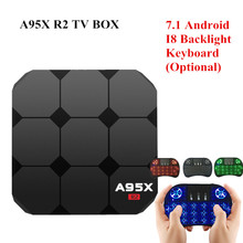 A95X R2 Android 7.1 Smart TV Box Rockchip RK3288 Quad-core 1G 8G Set Top Box Support 4K 3D Media Player Android TV BOX pk A95X