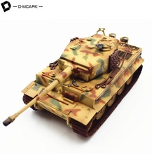 D-Mcark German Army Military Tank Toys WOT World of Tank 3D Army Men Action Battle Tank Model
