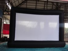 8*5m Giant Inflatable Movie Screen, Outdoor Inflatable Screen With 2 Blowers high quality ne(China)