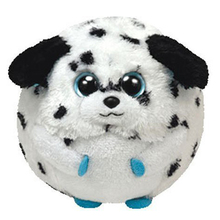 "Ty Beanie Ballz 15"" 38cm Rascal Dalmatian Dog Plush Large Stuffed Animal Collectible Soft Big Eyes Doll Toy"