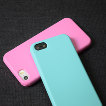 ITEUU 5S Candy TPU Matte Case for iphone 5 5S SE Cases Silicone Gel Soft Elegant Back Cover Shell Anti-fingerprint for iPhone 5S(China)