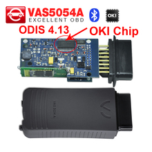 VAS 5054A with OKI Chip ODIS 4.13 software VAS 5054 A scanner For Adi for Seat for Skoda for VW VAS5054A OBD2 Diagnostic Tool(China)