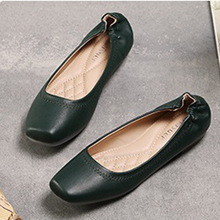 Flat shoes female spring 2017 han edition of the new fashionable coach contracted single shoes lighter big yards