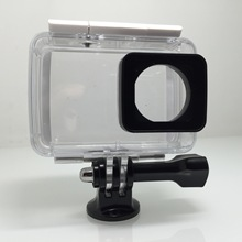 Underwater Waterproof Transparent Shell Cover Housing Camera Shell Cover Protector for Xiaomi Yi 4K Action Camera  F19599