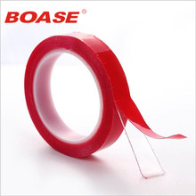 3m x 10mm Width Red Silicone Double Sided Tape Sticker For Car High Strength No Traces Double Sided Adhesive Sticker