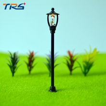 4types 400pcs/lot Model material scale model light emitting lawn lights model courtyard light kits