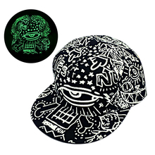New Fashion Snapback Caps Fluorescence Baseball Cap Woman Men Hip Hop Cap Luminous Gorras Snapback Hat Sport Hat Drop Shipping