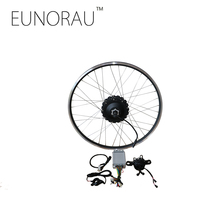 Free shipping 48V1000W 26''27.5''28'' rear cassette wheel hub motor electric bike kit cheap Ebike Conversion Kit(China)