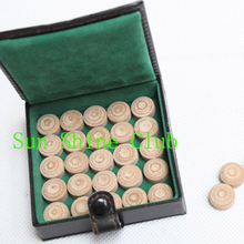 Freepost 50pcs/lot Original First Class Taiwan New 14mm Billiards Pool cue tips M/H pigskin leather cue tips Billiards supplies