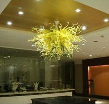 HOt Sale Fancy Living Room Decor Ceiling Hanging Handmade Blown GlassChandelier led Chihuly Chandeliers(China)