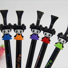 10pc/lot s Fashion Cute child Automatic pen mechanical pencil Activities of pen for school students writing 0.5mm pencil(China)