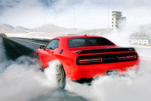 Dodge Challenger SRT - Classic American Muscle Car Poster Canvas Printing Decor Art