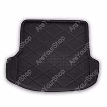 Areyourshop Car Auto Cargo Mat Boot liner Tray Rear Trunk Sticker Dog Pet Covers For Skoda Octavia 2006-2013 Car-Styling Covers(China)