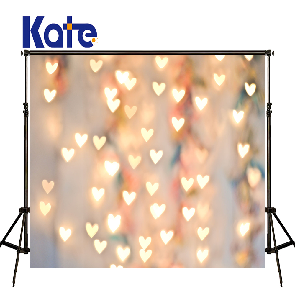 KATE ValentineS Day Background Photography Backdrops Christmas Background Romantic Glitter Backdrop Photocall Party US Delivery<br>