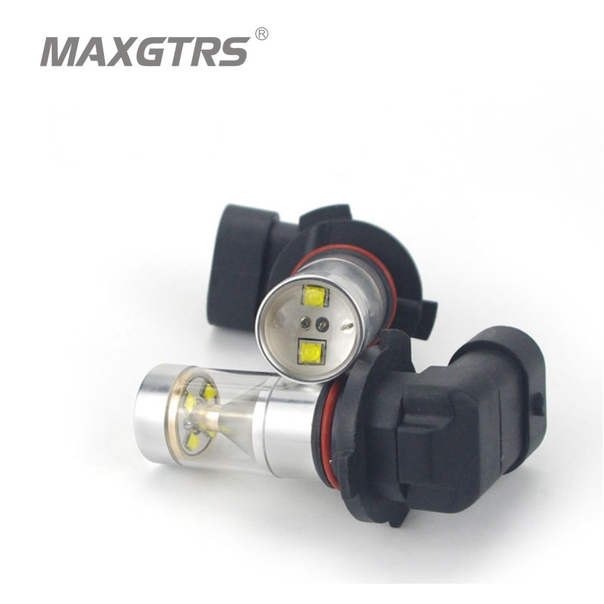 2x 30W 9005/HB3 Cree Chip with Lens Car Fog Light Auto Led Parking Turn Signal Reverse Daytime Running Lights White/Red/Yellow<br><br>Aliexpress