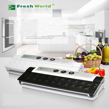 1piece Best household food preservation Vacuum Sealer Home kitchen bag seal packing machine(China)