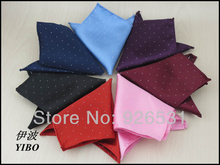 Pocket square/polyester Pocket cloth/Man must handkerchief /8 color can choose men's accessories,free shipping