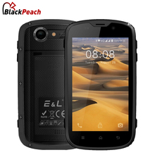 E&L W5S Mobile Phone Waterproof Shockproof IP68 Android 6.0 Quad Core 1GB RAM 8GB ROM 2800mAh 3G WCDMA Dual SIM Smartphone