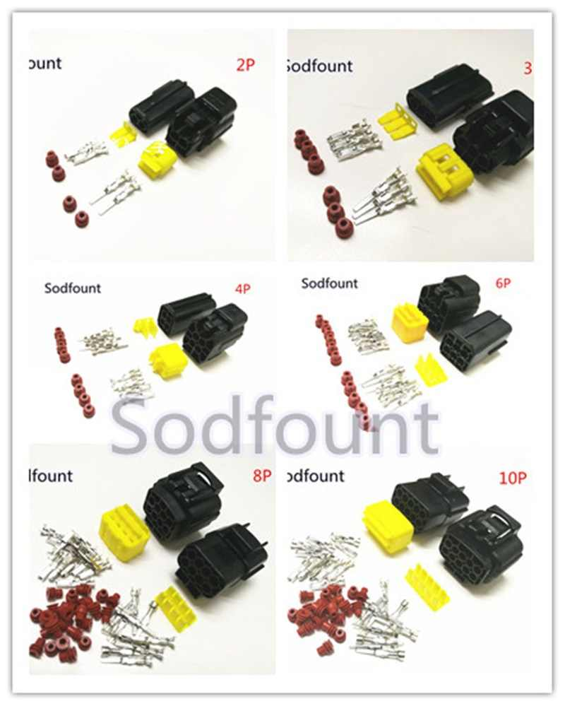 Detail Feedback Questions About 5 Sets Denso 8 Pin Way Dj70816y 18 Car Auto 4 Sealed Waterproof Electrical Wire Connector Plug Set Truck Connectors Us 155 50 22 35 Orders 1 2 3 6 10