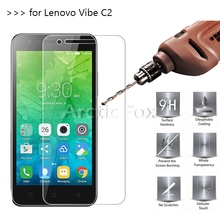 Buy 2.5D 0.26mm 9H Premium Tempered Glass Lenovo Vibe C2 k10a40 Screen Protector Toughened protective film Lenovo Vibe C2 for $1.89 in AliExpress store