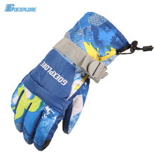 Goexplore Ski Gloves men Waterproof Winter Warm Snowboarding Glove Riding Motorcycle Breathable thermal fleece Snow Gloves women(China)