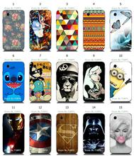 flower colorful Minions new arrival hybrid retail 15designs white hard cover cases for LG L40 D160 L40 Dual SIM D170 free ship