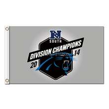 Division Champions South 2014 Carolina Panthers Flag Football Team 3 X 5ft Banner World Series Super Bowl Champions Custom Flag(China)