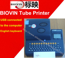 Tube Printer USB computer connection cable marker ID printer electronic lettering machine S700E wire marking machine