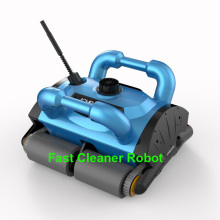 Free Shipping New Model iCleaner-200  Wall climb function Automatic Swimming Pool Cleaner Robot with caddy cart and 15m cable